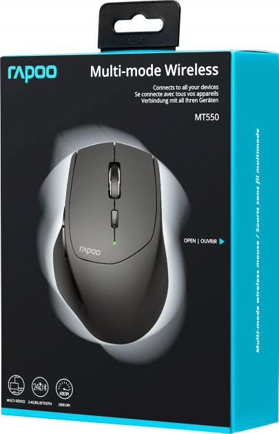 беспроводная мышь rapoo mt550 4