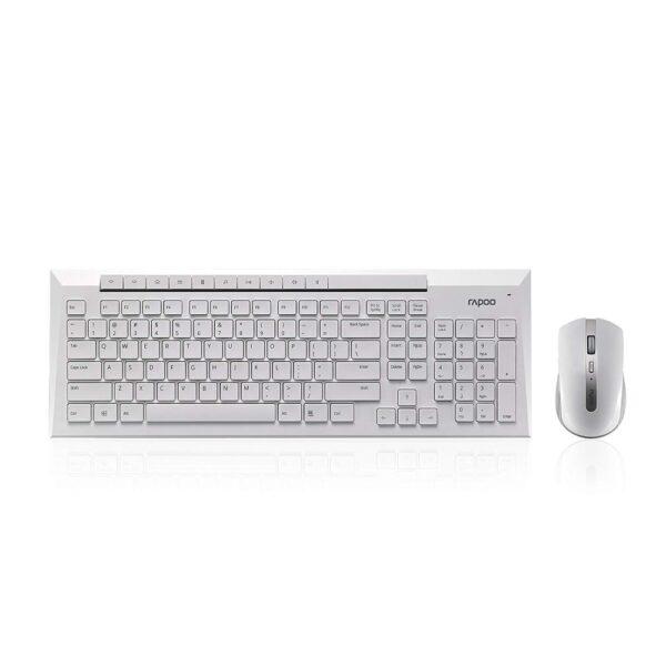 комплект клавиатура и мышь rapoo 8200m 3