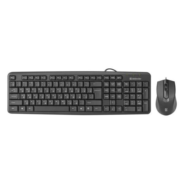 комплект клавиатура и мышь defender dakota c-270 1