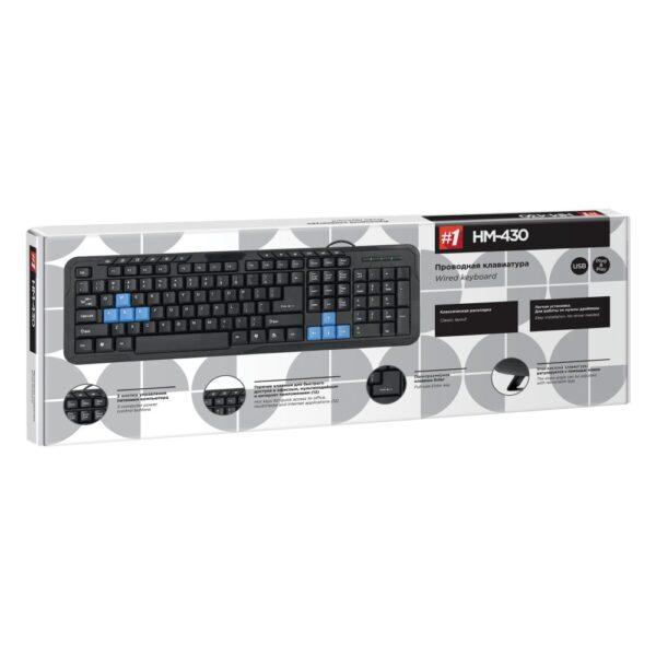 клавиатура defender #1 hm-430 1