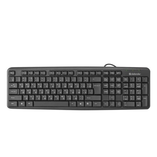 комплект клавиатура и мышь defender dakota c-270 2