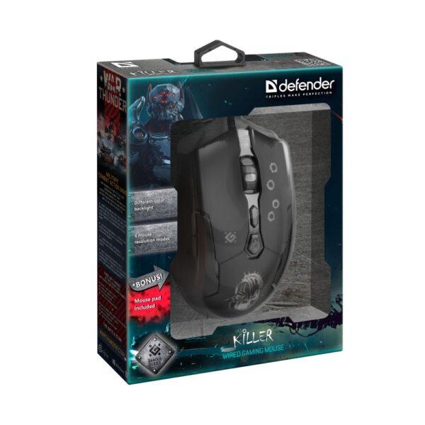 игровая мышь defender killer gm-170l 4
