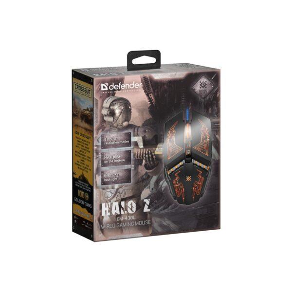 игровая мышь defender halo z gm-430l 4