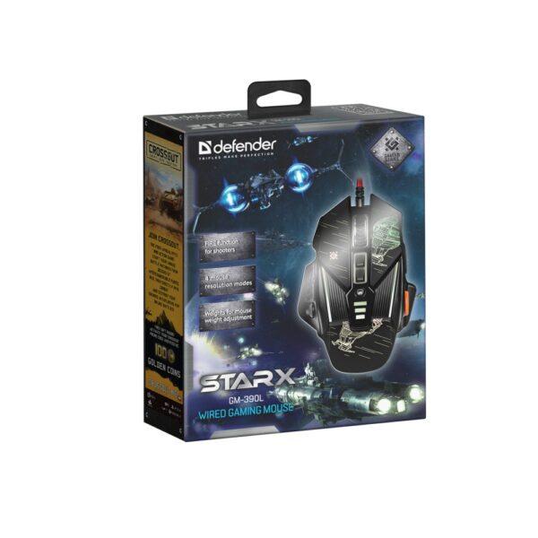 мышь defender starx gm-390l 6