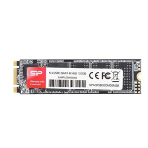 Диск SSD M.2 Silicon Power M55 120Gb