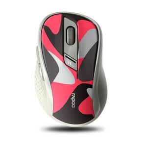 Беспроводная мышь Rapoo M500 Silent - Красный