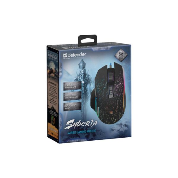 игровая мышь defender syberia gm-680l 2