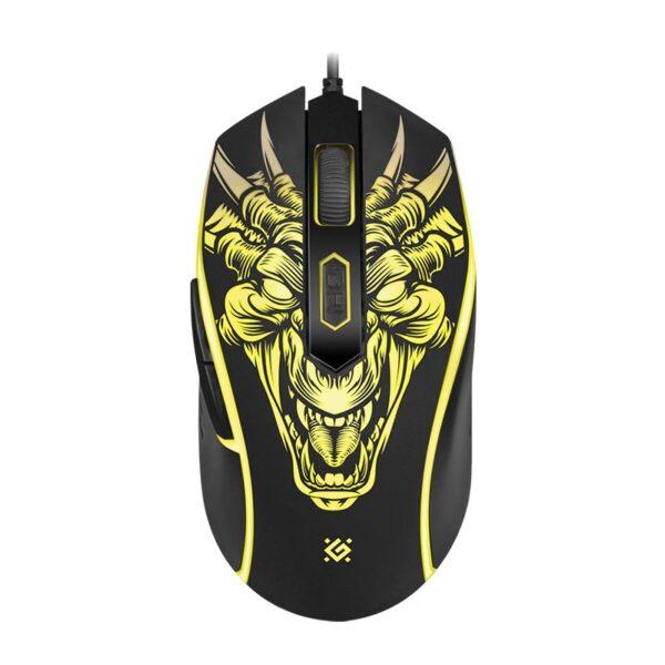 игровая мышь defender monstro gm-510l 4