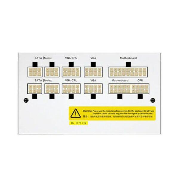 блок питания atx 750w deepcool dq750-m-v2l wh 2