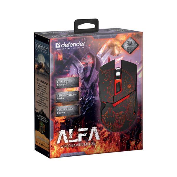 игровая мышь defender alfa gm-703l 3