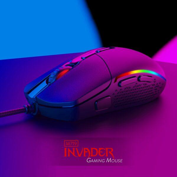 игровая мышь redragon invader m719 3