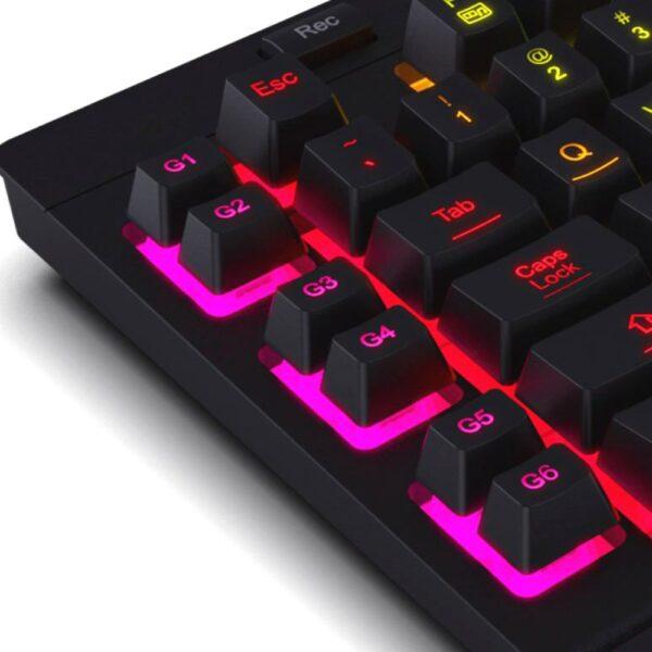 игровая клавиатура redragon shiva 2