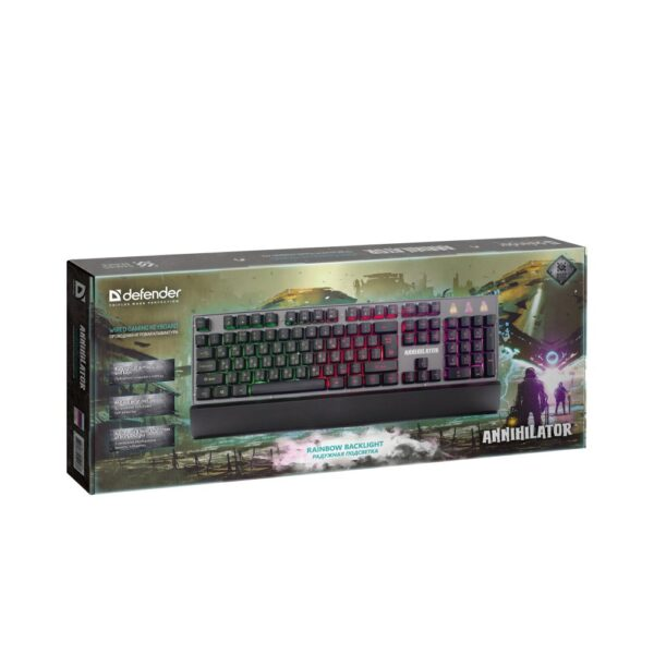 игровая клавиатура defender annihilator gk-013 2
