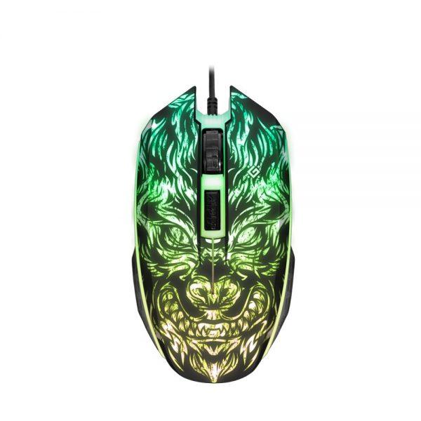 игровая мышь defender chaos gm-033 3